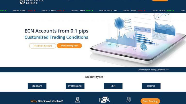 Blackwell Global ECN FOREX Broker Review