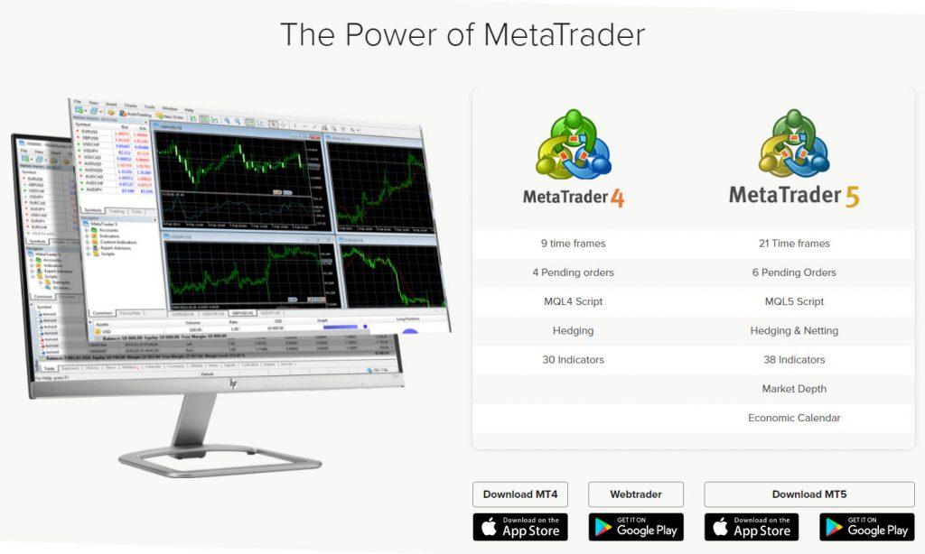 Infinox trading platform