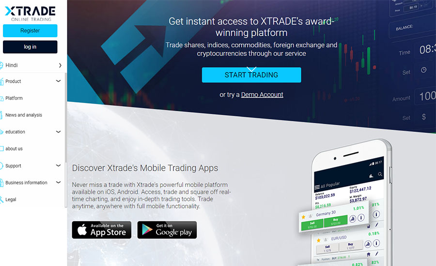 XTrade Review and Tutorial