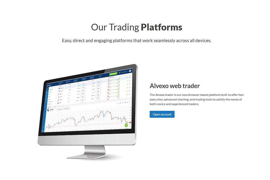 Alvexo Trading Accounts