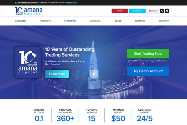 Amana Capital review and User Rating